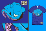 A Life Form Tee - Octophant by NinjaStefan