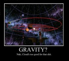 Cloud Demotivational by Sithis666