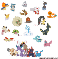 Lots of Pokemon