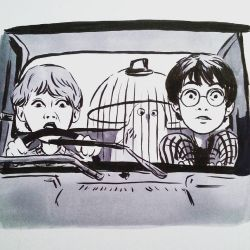 Harry Potter doodle by StarsInMyCoffeee