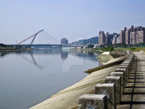 Keelung River, Taipei by celinex24