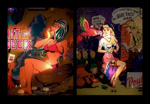 untitled - pinball diptych 2 by mgilpin