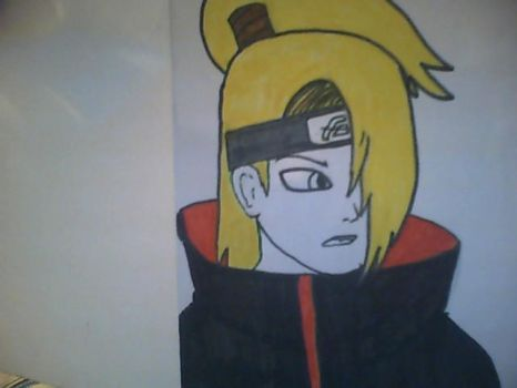 Deidara by The-Misfit-ers