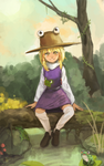 touhou Suwako Moriya [YouTube process] by permanentlow