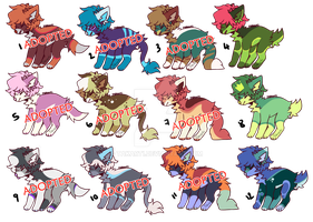 [OPEN] POINTS Canine adopts [3/12] by Takarti