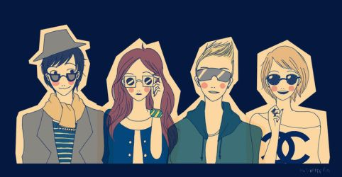 The sunglasses club by drrecords