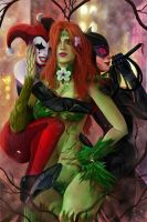 Gotham City Sirens by RossoWinch