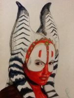 Shaak Ti by Batmags509
