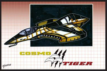 Cosmo Tiger Concept by stourangeau