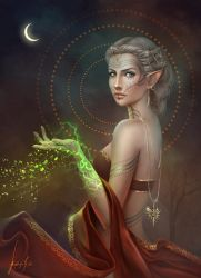 My Lavellan by MissQualle