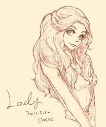 Lady by chacckco