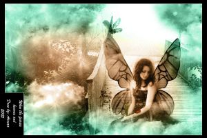 When the fairies become sad by Asmaa