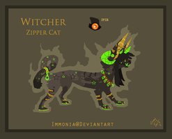 ZipperCat: Witcher Adopt [Open] by Immonia