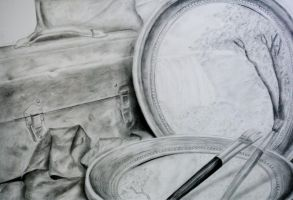 Still Life Drawing by ContagiousPixie