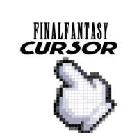 Final Fantasy hand cursor by MithriLady
