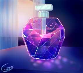 Crystal Galaxy Potion by Luna4s