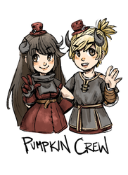 Pumpkin Crew by kirsten7767