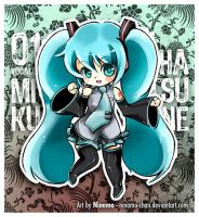Chibi Miku - normal ver. by Ninamo-chan