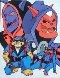 Swat Kats cell by MachoDLS