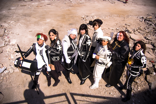 DGrayMan group cosplay by lanfear-chess