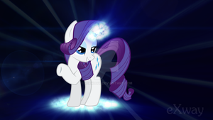 Glamorus Rarity (16:9) by XeXwayX