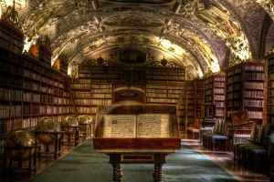 Strahov Theological Hall - HDR by guyprives