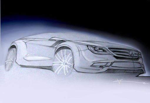 mercedes concept sketch by KalinIliev