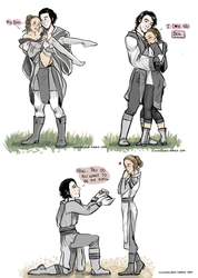 Grey Jedi: Our New life together by yennMisakato