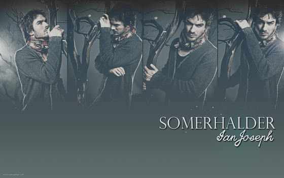 Ian Somerhalder Wallpaper by Fustro