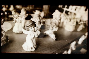 Little angel film negative by Ondrejvasak