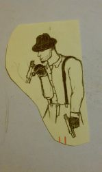 Guy from 30's? by artsy2012