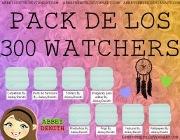 PACK 300 WATCHERS by AbbeyDenith