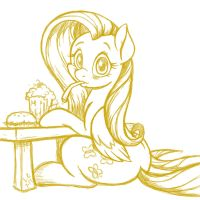 Want a Sip? (sketch) by LateCustomer