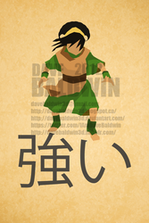 Toph - Strong by DaveBaldwin3D