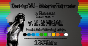 Desktop VU-Meter v.2.2 Final for Rainmeter by Reboot21