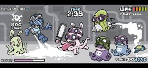 Crazy Octobunny Slaughter Fest by cronobreaker