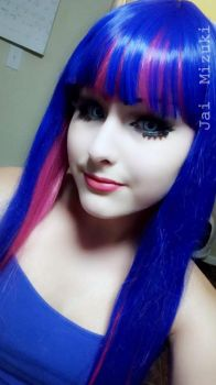 Stocking Anarchy [Makeup Test] -2- by JaiMizuki