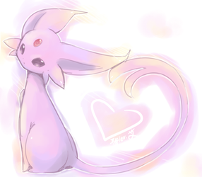 espeon. by Effier-sxy