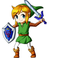 A Link Between Worlds: Link by Icy-Snowflakes