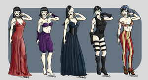 Sasga's looks by Shesvii