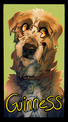 Guinness Badge by alridpath