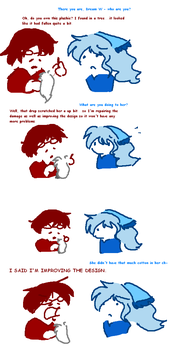 590: Mysterious Helper by Urby