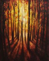 Forest Glow by crazycolleeny