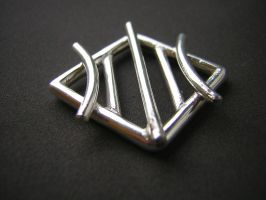 Tread pendant in silver by LARvonCL