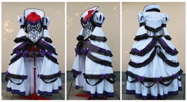 Rococo Dark Princess Serenity cosplay commission by lady-narven