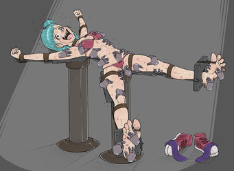 Bulma Tickled by wtfeather