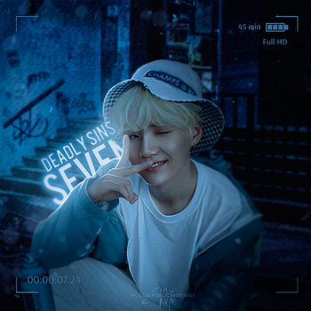 Suga from BTS / On My Way by designML