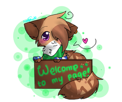Welcome +commish+ by Lunachu3