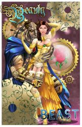 Steampunk Beauty and the Beast Colors by sorah-suhng