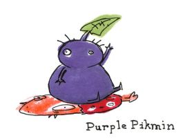 Purple Pikmin by Mr-DNA